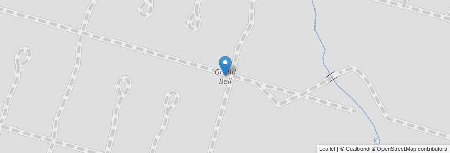 Mapa de ubicacion de Grand Bell, City Bell en City Bell, Partido De La Plata, Buenos Aires, Argentina.