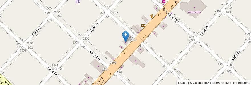 Mapa de ubicacion de Grupo Girat, San Carlos en Argentina, Buenos Aires, Partido De La Plata, San Carlos.