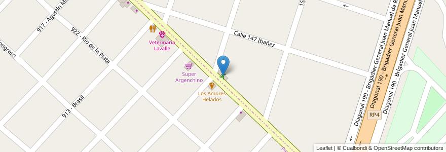 Mapa de ubicacion de Halter Gym en Argentina, Buenos Aires, Partido De General San Martín, Loma Hermosa.