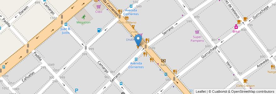 Mapa de ubicacion de Il vero amaretto, Villa Crespo en Argentina, Ciudad Autónoma De Buenos Aires, Comuna 15, Buenos Aires.