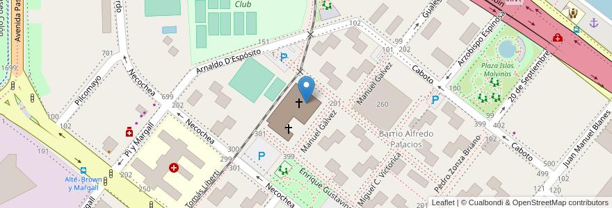 Mapa de ubicacion de IME - Instituto Madre de los Emigrantes, Boca en Argentina, Ciudad Autónoma De Buenos Aires, Comuna 4, Buenos Aires.