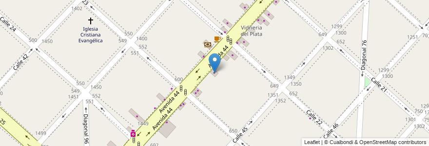 Mapa de ubicacion de Impresiones Gráficas, Casco Urbano en La Plata, Partido De La Plata, Buenos Aires, Argentina.