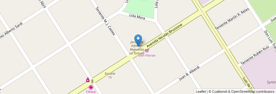 Mapa de ubicacion de Instituto Pablo Neruda en Argentina, Buenos Aires, Partido De Esteban Echeverría, Monte Grande.
