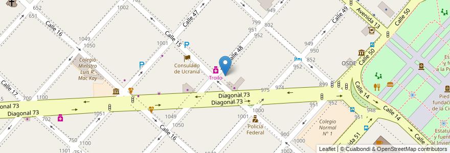 Mapa de ubicacion de Instituto Superior de Educacion IOMA, Casco Urbano en Argentina, Buenos Aires, Partido De La Plata, La Plata.