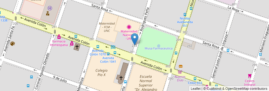 efb4e2338 Cómo llegar a Instituto Superior Mariano Moreno (Escuela) en Córdoba ...