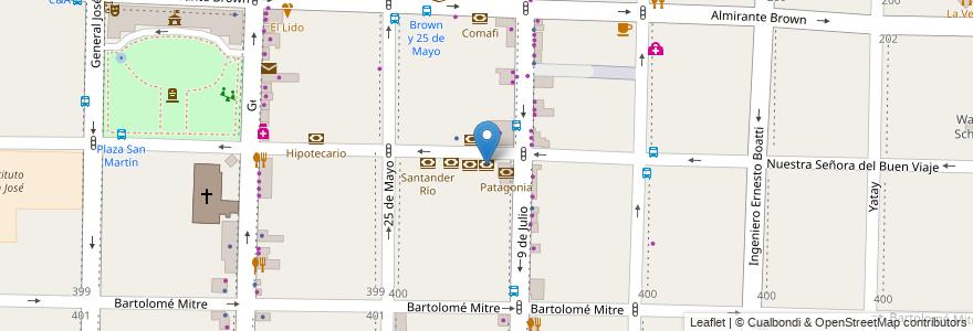 Mapa de ubicacion de Itaú en Argentina, Buenos Aires, Partido De Morón, Morón.