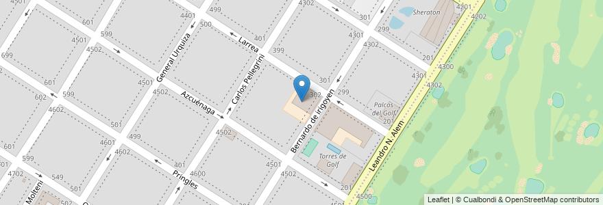 Mapa de ubicacion de Jardín de Infantes Juan Gutenberg en Mar Del Plata, Partido De General Pueyrredón, Buenos Aires, Argentina.