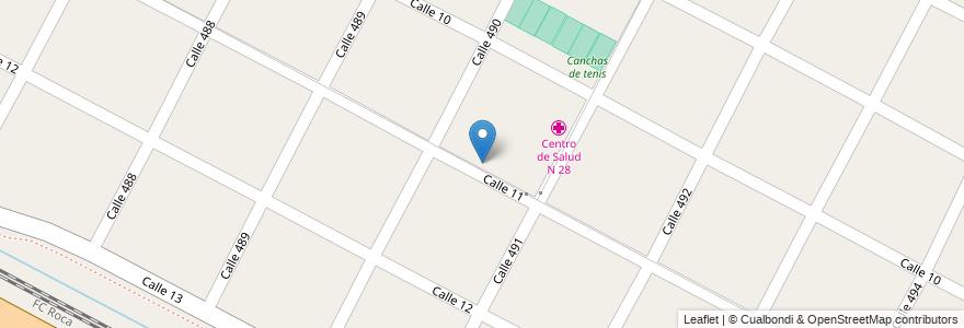 Mapa de ubicacion de Jardin de Infantes N 955, Gonnet en Manuel B. Gonnet, Partido De La Plata, Buenos Aires, Argentina.