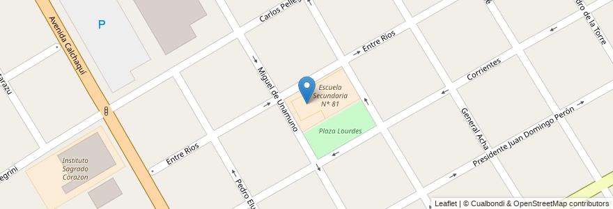"Mapa de ubicacion de Jardin de Infantes Nº 924 ""Jacaranda Azul"" en Argentina, Buenos Aires, Partido De Quilmes, Quilmes."