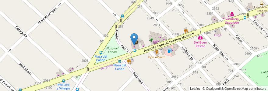 Mapa de ubicacion de Kiosco Mily en Argentina, Buenos Aires, Partido De La Matanza, Lomas Del Mirador.