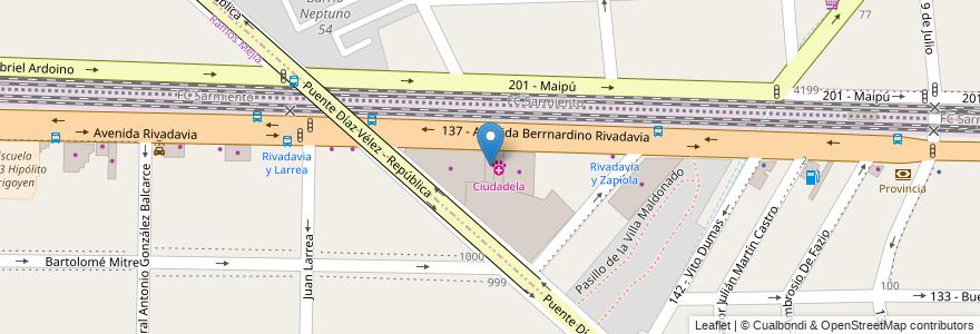 Mapa de ubicacion de La Far Autos en Argentina, Buenos Aires.