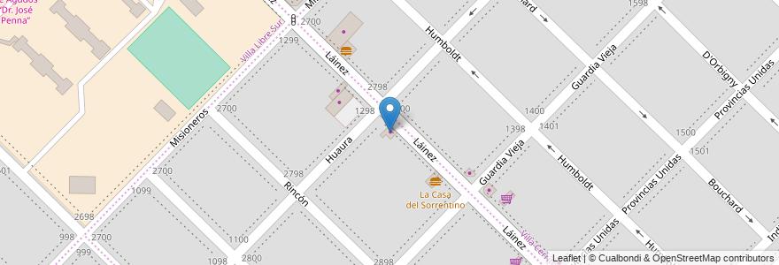 Mapa de ubicacion de La Favorita en Argentina, Buenos Aires, Partido De Bahía Blanca, Bahía Blanca.