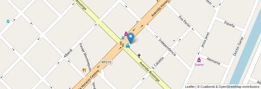 Mapa de ubicacion de La Inmaculada en Partido De Ensenada, Buenos Aires, Argentina.