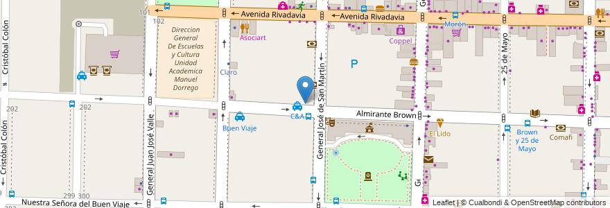 Mapa de ubicacion de la intendencia en Argentina, Buenos Aires, Partido De Morón, Morón.