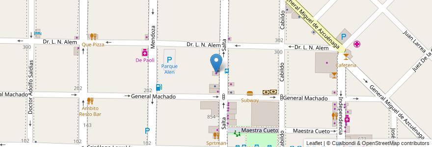Mapa de ubicacion de Las Tribus en Argentina, Buenos Aires, Partido De Morón, Morón.