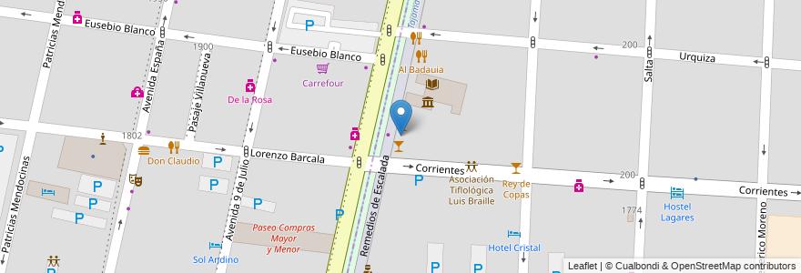 Mapa de ubicacion de Leyenda en Argentina, Chile, Mendoza, Departamento Capital, Ciudad De Mendoza, Sección 3ª Parque O'Higgins.