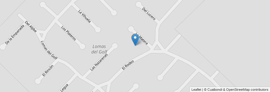 Mapa de ubicacion de Lomas del Golf en Mar Del Plata, Partido De General Pueyrredón, Buenos Aires, Argentina.