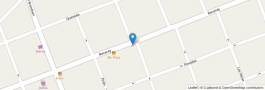 Mapa de ubicacion de Los Quinero en Argentina, Buenos Aires, Partido De Ituzaingó, Ituzaingó.
