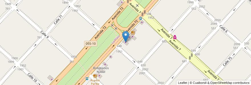 Mapa de ubicacion de Lubri Fan 72, Villa Elvira en Partido De La Plata, Buenos Aires, Argentina.