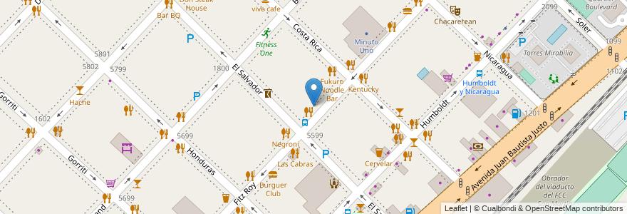 Mapa de ubicacion de Lupita, Palermo en Argentina, Ciudad Autónoma De Buenos Aires, Buenos Aires.