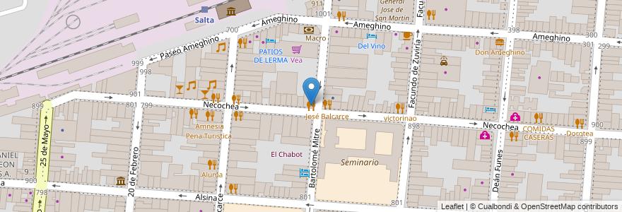 Mapa de ubicacion de Macacha en Municipio De Salta, Salta, Capital, Salta, Argentina.