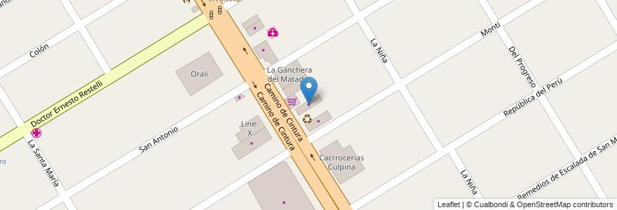 Mapa de ubicacion de Marmolería en Argentina, Buenos Aires, Partido De Esteban Echeverría, 9 De Abril.