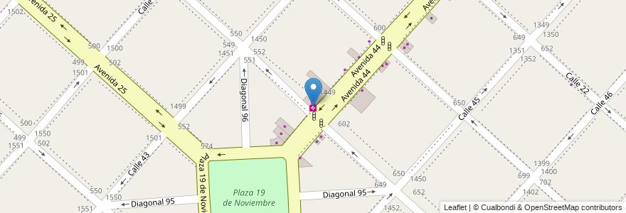Mapa de ubicacion de MARTORANO, Casco Urbano en Argentina, Buenos Aires, Partido De La Plata, La Plata.