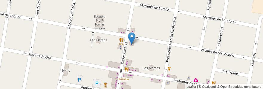 Mapa de ubicacion de Matias Szpira en Argentina, Buenos Aires, Partido De Morón, Castelar.