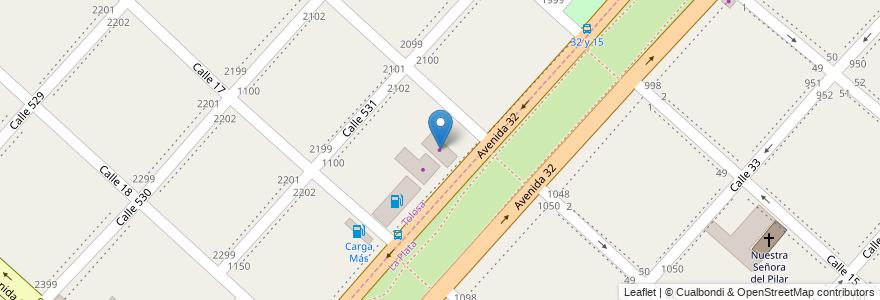 Mapa de ubicacion de Maxi Cermámicos, Tolosa en Partido De La Plata, Buenos Aires, Argentina.