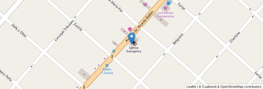 Mapa de ubicacion de Mendella en Argentina, Buenos Aires, Partido De San Miguel, San Miguel.