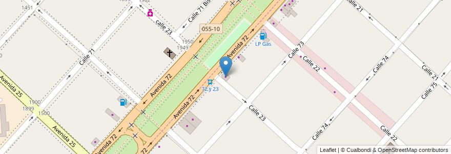 Mapa de ubicacion de Muebleria 72, Casco Urbano en Altos De San Lorenzo, Partido De La Plata, Buenos Aires, Argentina.