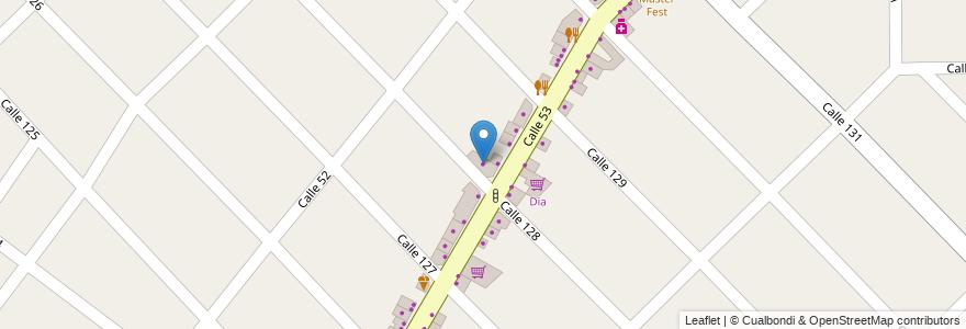 Mapa de ubicacion de Novelli Muebles en Argentina, Buenos Aires, Partido De Berazategui, Hudson.