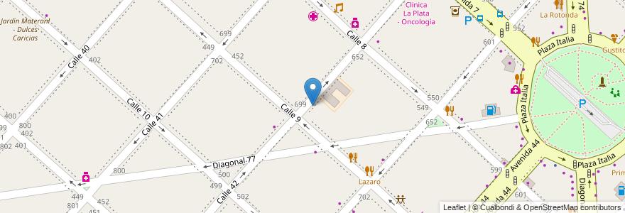 Mapa de ubicacion de PagoFacil, Casco Urbano en La Plata, Partido De La Plata, Buenos Aires, Argentina.