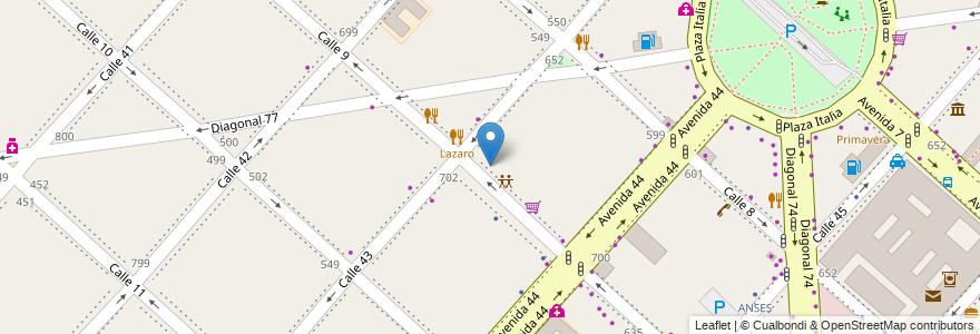 Mapa de ubicacion de PagoFacil, Casco Urbano en Argentina, Buenos Aires, Partido De La Plata, La Plata.