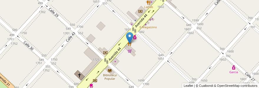 Mapa de ubicacion de Parilla, Casco Urbano en La Plata, Partido De La Plata, Buenos Aires, Argentina.