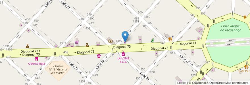 Mapa de ubicacion de P&C Basicos, Casco Urbano en La Plata, Partido De La Plata, Buenos Aires, Argentina.