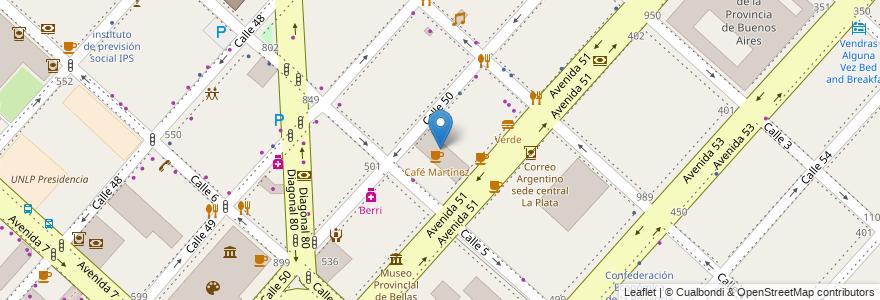 Mapa de ubicacion de Piaccere, Casco Urbano en Argentina, Buenos Aires, Partido De La Plata, La Plata.