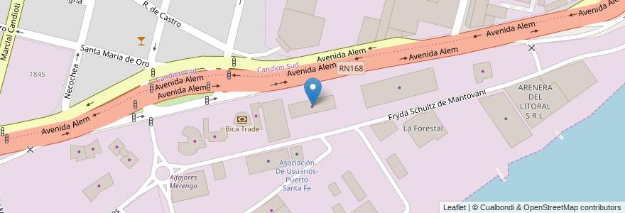 Mapa de ubicacion de Piletas Culzzoni en Argentina, Santa Fe, Departamento La Capital, Santa Fe Capital, Santa Fe.