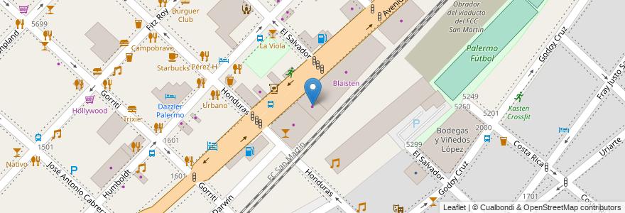 Mapa de ubicacion de Porcelanosa Venis, Palermo en Argentina, Ciudad Autónoma De Buenos Aires, Buenos Aires.