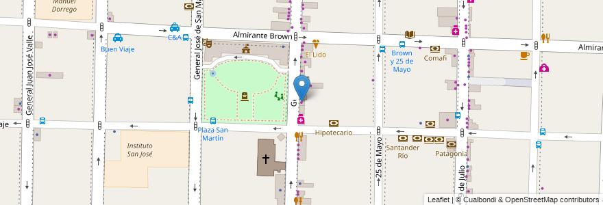 Mapa de ubicacion de Princess Bazar en Argentina, Buenos Aires, Partido De Morón, Morón.