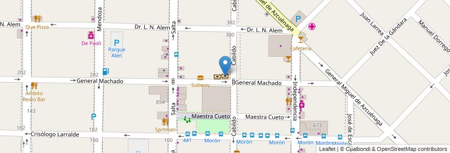 Mapa de ubicacion de Provincia Net en Argentina, Buenos Aires, Partido De Morón, Morón.