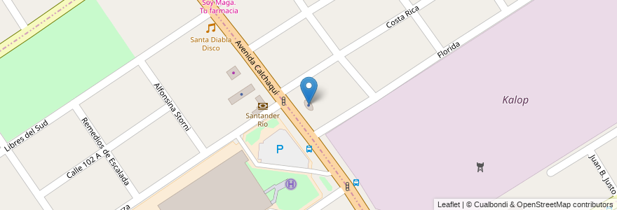 Mapa de ubicacion de Provincia Seguros en Argentina, Buenos Aires, Partido De Florencio Varela, Ezpeleta.