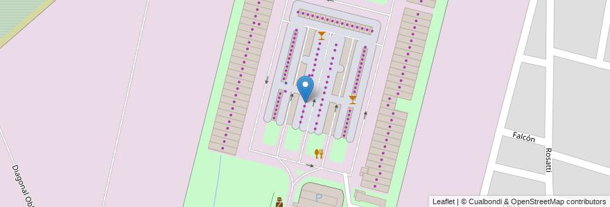 Mapa de ubicacion de PUESTO N°108 Giupponi, Juan Carlos en Santa Fe Capital, Departamento La Capital, Santa Fe, Argentina.