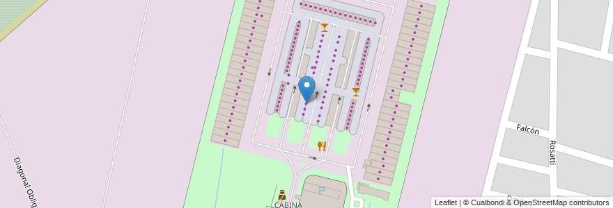 Mapa de ubicacion de PUESTO N°111 Sozio, Alfonzo en Argentina, Santa Fe, Departamento La Capital, Santa Fe Capital.