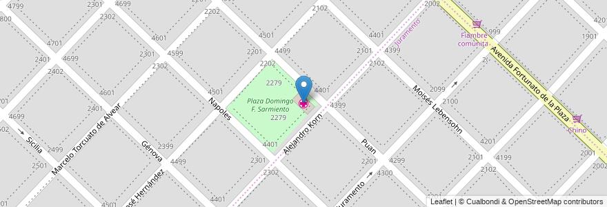 """Mapa de ubicacion de Sala de Primeros Auxilios """"Coelho de Meyrrelles en Mar Del Plata, Partido De General Pueyrredón, Buenos Aires, Argentina."""