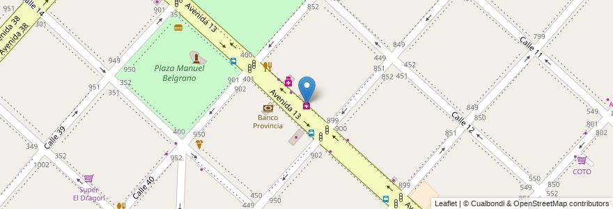 Mapa de ubicacion de Sella, Casco Urbano en La Plata, Partido De La Plata, Buenos Aires, Argentina.