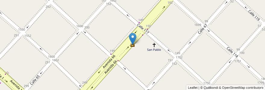 Mapa de ubicacion de Seprit, Casco Urbano en Argentina, Buenos Aires, Partido De La Plata, La Plata.