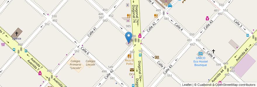 Mapa de ubicacion de Suarez Roig, Casco Urbano en La Plata, Partido De La Plata, Buenos Aires, Argentina.