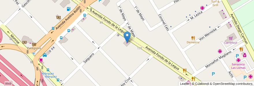 Mapa de ubicacion de Super Fresh en Argentina, Buenos Aires, Partido De San Isidro, Boulogne Sur Mer.