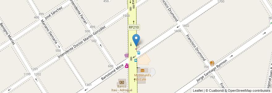 Mapa de ubicacion de Sushi Kyu en Adrogué, Partido De Almirante Brown, Buenos Aires, Argentina.
